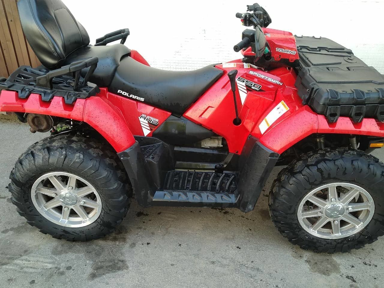 Polaris sportsman 550 tour